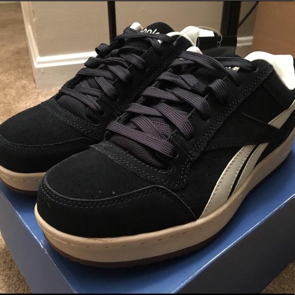 e2f9526b69d Reebok Navy Blue Work Sneakers